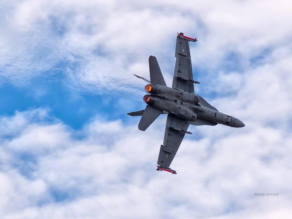 F-18 Hornet Malmi Airshow