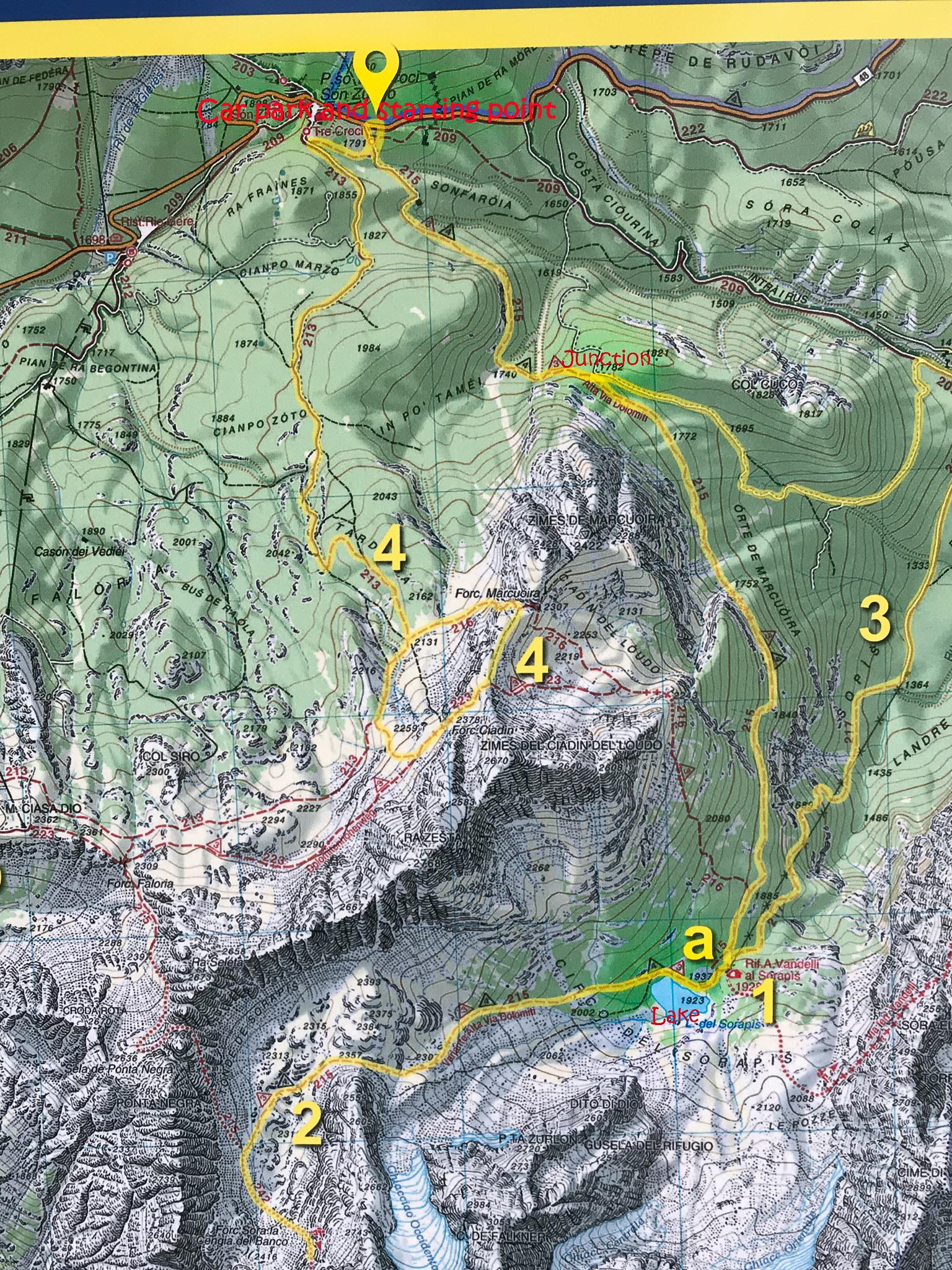 Trekking To Lake Sorapis Jukka Me